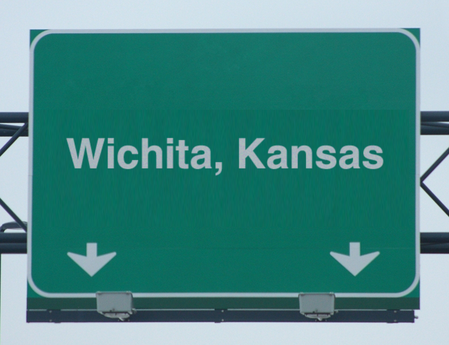 wichitakansascustomhighwaysign